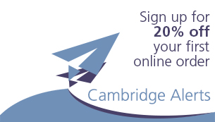 Sign up for email alerts from Cambridge